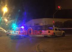 Una mujer fue atropellada por una camioneta. Fractura y traumatismos
