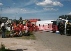 Informe actualizado sobre las víctimas del vuelco en Ruta 5