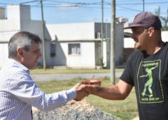 (Video) Avanza la obra de la plazoleta Barrio ProCreAr I