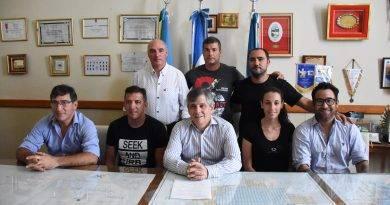 Fueron presentadas las escuelas municipales de Tiro, Ciclismo y Fútbol