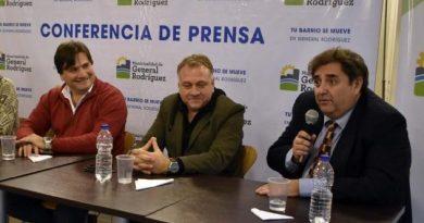 El arquitecto Gustavo Navone ocupará un importante cargo en Gral Rodriguez
