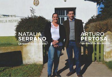 """""""Seguimos incluyendo a localidades de campaña con educación vial en Palemón Huergo"""""""