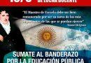 Martes: concentrará el Frente de Unidad Docente bonaerense frente al Monumento a la Bandera