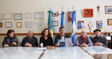VIDEO El intendente recibió a Sara Pagola Aizpiri, delegada de Euskadi en Argentina