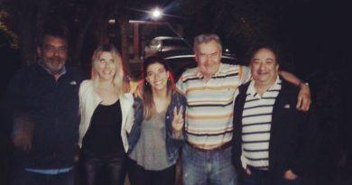 Patricia Mangino compartió una cena y luego celebró el Día del militante con Florencia Casamiquela en el PJ