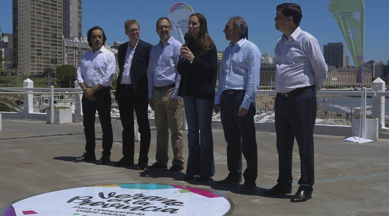 """María Eugenia Vidal, lanzó el programa """"Verano en la Provincia"""""""