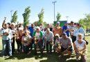 En el Polideportivo se jugó un torneo de tejo organizado por la Dirección de Deportes