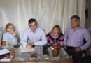 Firmaron la escritura del predio de 6 hectáreas donadas por  las hermanas  Falabella, para el Parque Industrial