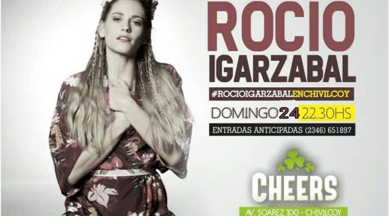 Show de Rocío Igarzabal en Chivilcoy. Temas nuevos, covers, inéditos y mucho rock nacional