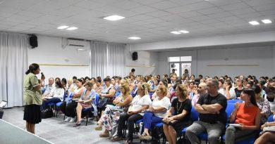 Se brindó una charla sobre el hantavirus y dengue para docentes y auxiliares de establecimientos educativos