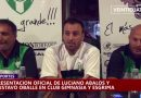 Presentación de Luciano Abalos como nuevo DT de Gimnasia