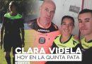Clara Videla, debutó formando terna arbitral en un partido de Primera.
