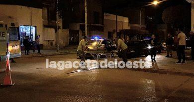 VIDEO Un joven motociclista fue trasladado al Hospital Municipal
