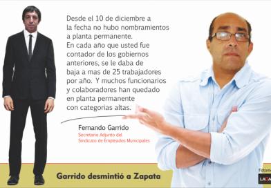 «En los gobiernos anteriores se le daban de baja a mas de 25 trabajadores y funcionarios y colaboradores han quedado en planta permanente»