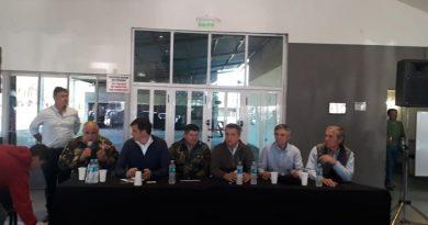 Actos de vandalismo en predios rurales: se llevó a cabo una reunión en la Sociedad Rural de Chacabuco de la que participó la Rural de Chivilcoy
