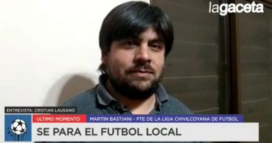 VIDEO Bastiani, brindó detalles de la reunión que llevaron a tomar la decisión de parar el fútbol local