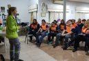 Voluntarios de Defensa Civil, continúan capacitándose. Convocaron a Melina Baume de SAME