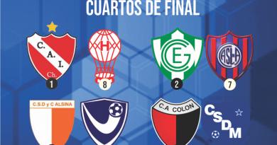 La definición del torneo de 1ra. división comenzará el domingo 3 de noviembre