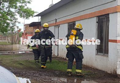Incendio en las instalaciones del Club Alsina
