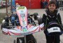 El piloto de Chivilcoy Nicola Escalón efectuó satisfactoriamente su participación en la segunda fecha del certamen 2019 del Campeonato Argentino de Karting.