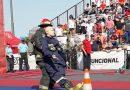 Alberto Butteri, bombero de nuestra ciudad participó de un desafío nacional de habilidades bomberiles