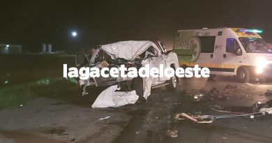 Un hombre perdió la vida en un siniestro vial en Ruta 5