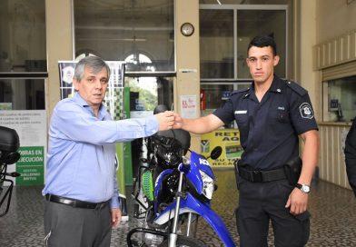 El municipio adquirió dos motos para policía «Se hizo un gran esfuerzo para poder adquirirlas».