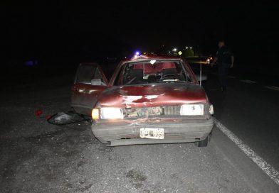 Un hombre falleció al ser embestido por un auto en Ruta 5