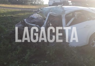 (Video) Fatal colisión frontal en Ruta 51; una persona fallecida.