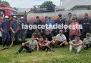 VIDEO Cierre del año de la brigada infantil de bomberos