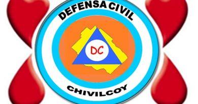 Defensa Civil brindará información sobre la colecta de sangre del 6 de febrero