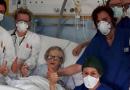 Una italiana de 95 años le ganó al coronavirus