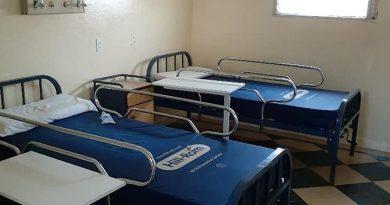 Se finalizó la restauración y acondicionamiento de una sala para casos de Covid-19 en el Hospital Municipal