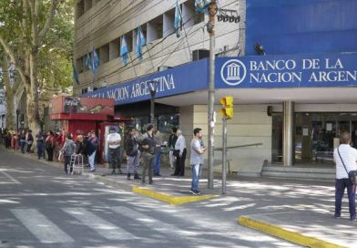 Los bancos atenderán a partir de mañana de 9 a 16 con un cronograma de pago según el último número del DNI
