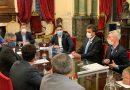 Britos y el grupo de intendentes, se reunieron con Sergio Massa, Mario Meoni y el presidente de Trenes Argentinos, Martín Marinucci
