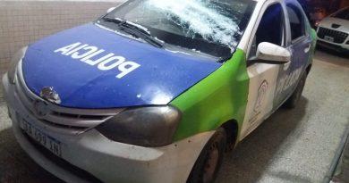 Son 7 los policías con lesiones de distinta consideración, 4 delincuentes aprehendidos y un prófugo ya identificado
