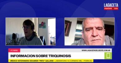 El médico veterinario Galland, fue consultado sobre la Triquinosis. Contagio, sintomatología y secuelas
