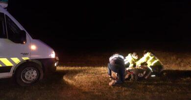 Un camionero chocó con una moto, se dio a la fuga y fue intensamente buscado hasta ser detenido