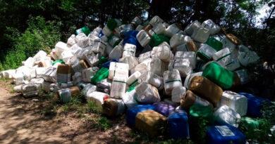 La Dirección de Producción recuerda que los envases de productos fitosanitarios deben entregarse al Centro de Acopio en el Parque Industrial