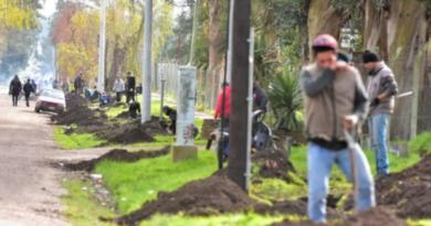 300 personas se organizaron para robar cables de teléfono en Mar del Plata
