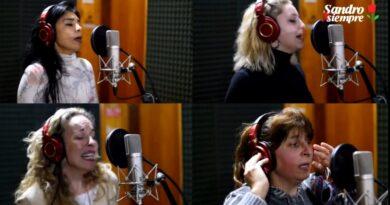 Cuatro cantantes locales, homenajearon a «Sandro»