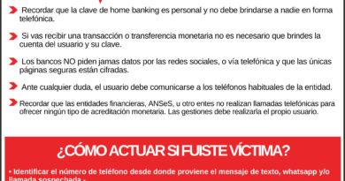 Prevención de ciberdelitos: Estafas telefónicas.