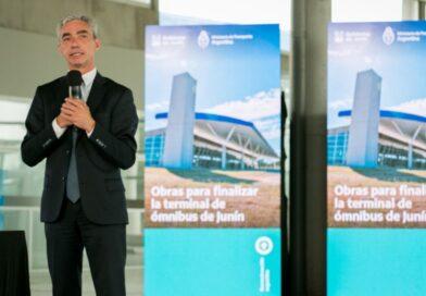 Meoni anunció que «Junín va a tener uno de los aeropuertos más moderno de la Argentina»