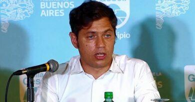 Kicillof, anunció que «de continuar la caída de casos» podría extenderse el horario de las actividades nocturnas