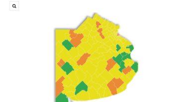 Son 13 municipios en fase 3, 111 en fase 4 y 11 en fase 5
