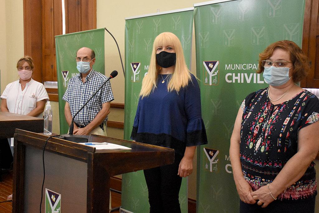 Se instalarán postas informativas y de inscripción para la vacunación de Covid-19 en distintos puntos de la ciudad