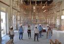 Recorrida por el avance de obra en la Escuela Normal, para lo cual se destinaron cerca de $6.000.000 del Fondo Educativo