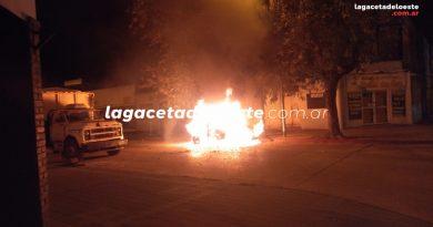 Perdidas totales: Incendio de un automovil