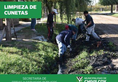 La Municipalidad de Chivilcoy, se encuentra trabajando en el Barrio Verde