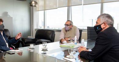 Pablo Micheli sumó el apoyo nacional de Concertación Forja